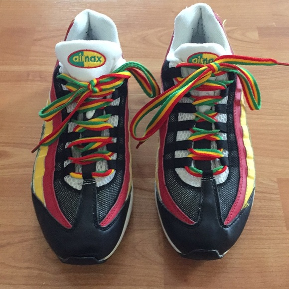 Men's Nike Air Max 95 Rasta Running Shoes